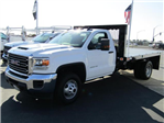 2018 Sierra 3500 Regular Cab DRW 4x2,  Knapheide Platform Body #78970 - photo 1