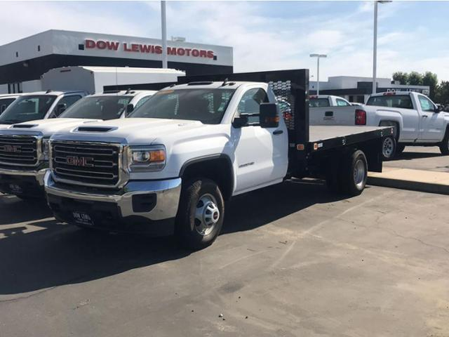 2018 Sierra 3500 Regular Cab DRW 4x2,  Knapheide Value-Master X Platform Body #79640 - photo 1
