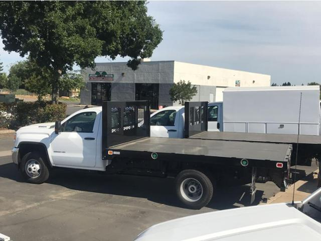 2018 Sierra 3500 Regular Cab DRW 4x2,  Knapheide Platform Body #79640 - photo 2