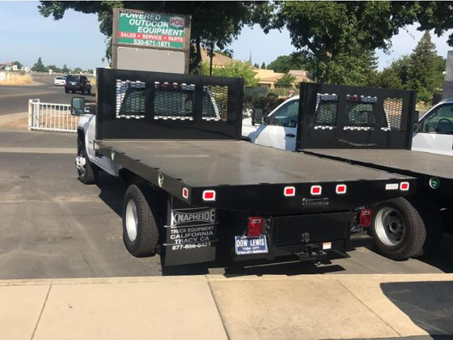 2018 Sierra 3500 Regular Cab DRW 4x2,  Knapheide Platform Body #79640 - photo 3