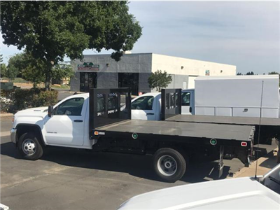 2018 Sierra 3500 Regular Cab DRW 4x2,  Knapheide Value-Master X Platform Body #79640 - photo 2