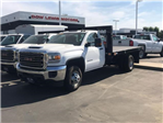 2018 Sierra 3500 Regular Cab DRW 4x2,  Knapheide Platform Body #79640 - photo 1