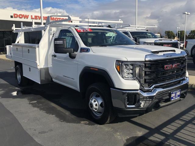 2020 GMC Sierra 3500 Regular Cab 4x4, Harbor Contractor Body #88760 - photo 4