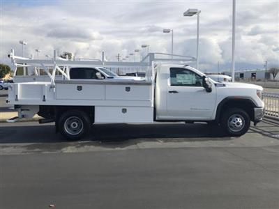 2020 GMC Sierra 3500 Regular Cab 4x4, Harbor Contractor Body #88760 - photo 5