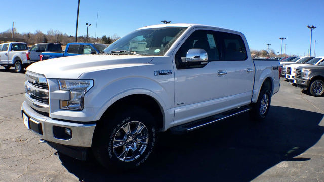 2017 F-150 Crew Cab 4x4 Pickup #HKC29214 - photo 4