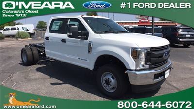 2018 F-350 Crew Cab DRW 4x4,  Cab Chassis #JED00713 - photo 1
