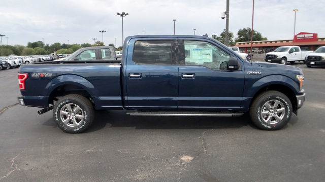 2018 F-150 Crew Cab 4x4 Pickup #JFA17448 - photo 9