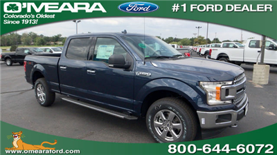 2018 F-150 Crew Cab 4x4 Pickup #JFA17448 - photo 1