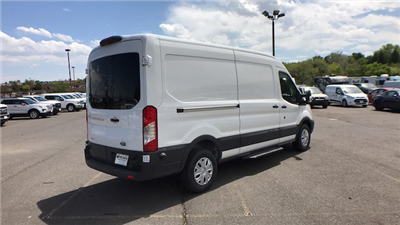 2018 Transit 350 Med Roof 4x2,  Empty Cargo Van #JKA23306 - photo 8