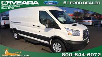2018 Transit 350 Med Roof 4x2,  Empty Cargo Van #JKA23307 - photo 1