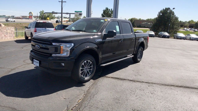 2018 F-150 Crew Cab 4x4 Pickup #JKC09234 - photo 4