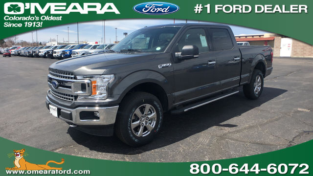 2018 F-150 SuperCrew Cab 4x4, Pickup #JKD44190 - photo 1