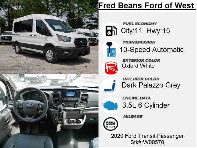 2020 Ford Transit 150 Med Roof RWD, Passenger Wagon #W00570 - photo 14