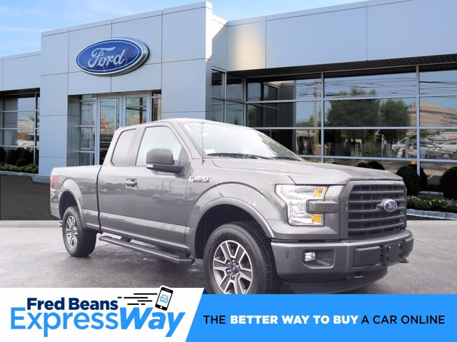 2015 Ford F-150 Super Cab 4x4, Pickup #W00630E - photo 1