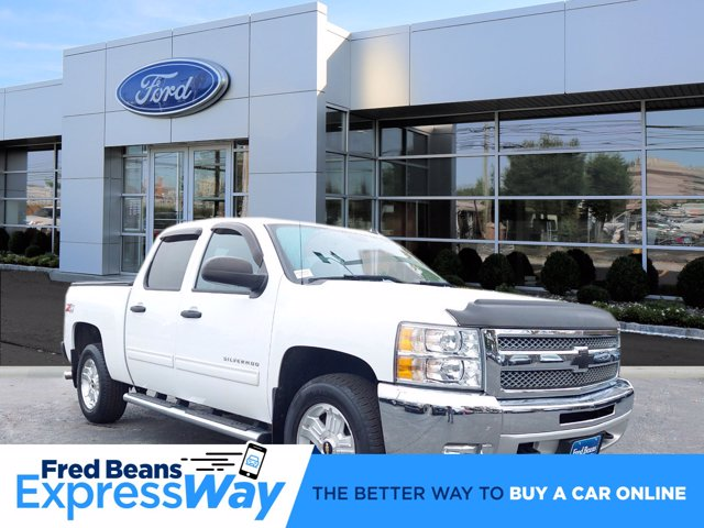 2013 Chevrolet Silverado 1500 Crew Cab 4x4, Pickup #W00941F - photo 1