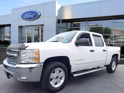 2013 Chevrolet Silverado 1500 Crew Cab 4x4, Pickup #W00941F - photo 3