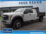2017 F-450 Super Cab DRW 4x4, Rugby Dump Body #W17718 - photo 1