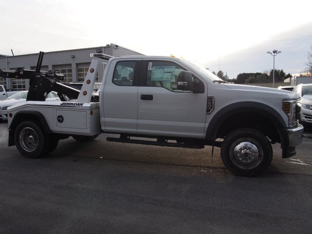 2018 F-450 Super Cab DRW 4x4, Jerr-Dan Wrecker Body #W18416 - photo 5