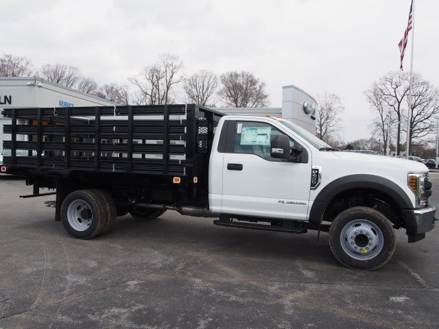 2018 F-450 Regular Cab DRW, Knapheide Stake Bed #W18528 - photo 3