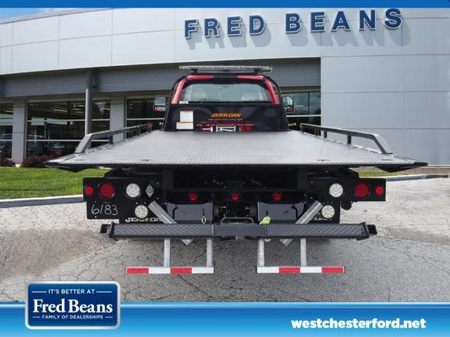 2019 F-550 Regular Cab DRW 4x4,  Jerr-Dan Rollback Body #W19028 - photo 3