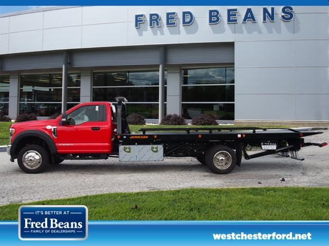 2019 F-550 Regular Cab DRW 4x4,  Jerr-Dan Rollback Body #W19028 - photo 4