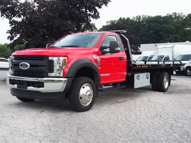 2019 F-550 Regular Cab DRW 4x4,  Jerr-Dan Rollback Body #W19028 - photo 5