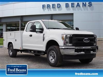 2019 F-350 Super Cab 4x4,  Reading Classic II Steel Service Body #W19035 - photo 1