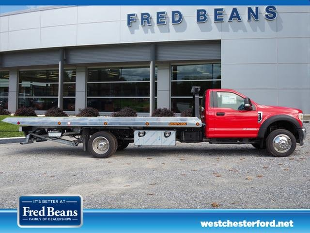2019 F-550 Regular Cab DRW 4x4,  Jerr-Dan Rollback Body #W19087 - photo 3