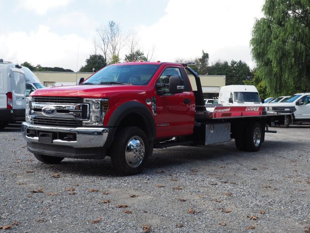 2019 F-550 Regular Cab DRW 4x4,  Jerr-Dan Rollback Body #W19087 - photo 5