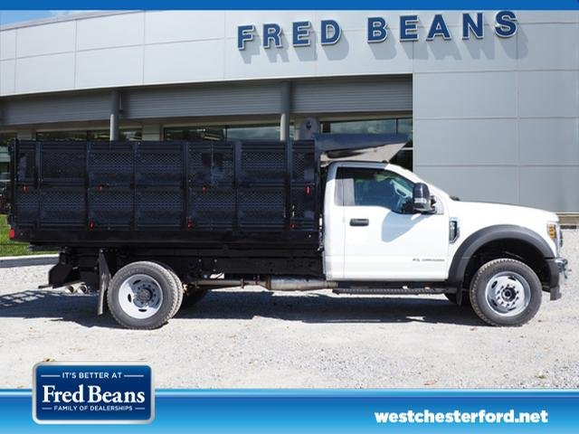 2019 F-450 Regular Cab DRW 4x4,  Rugby Stake Bed #W19117 - photo 3