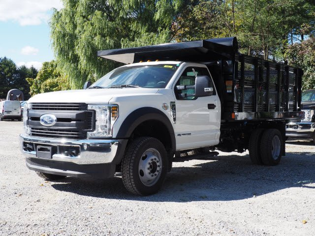 2019 F-450 Regular Cab DRW 4x4,  Rugby Stake Bed #W19117 - photo 5
