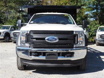 2019 F-450 Regular Cab DRW 4x4,  Rugby Versa Rack Landscape Dump Stake Bed #W19117 - photo 6