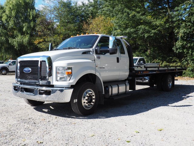 2019 F-650 Super Cab DRW 4x2,  Jerr-Dan Rollback Body #W19163 - photo 5
