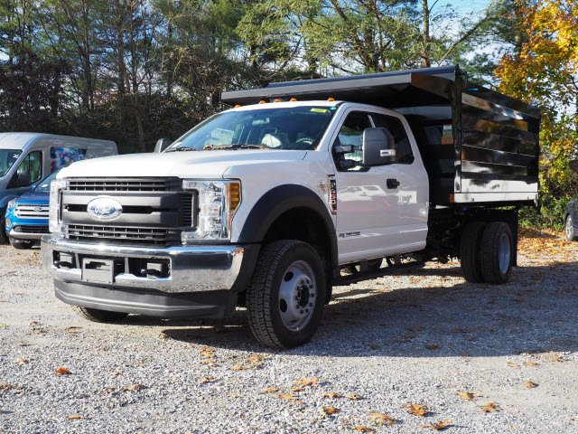 2019 F-450 Super Cab DRW 4x4,  Rugby Landscape Dump #W19213 - photo 5