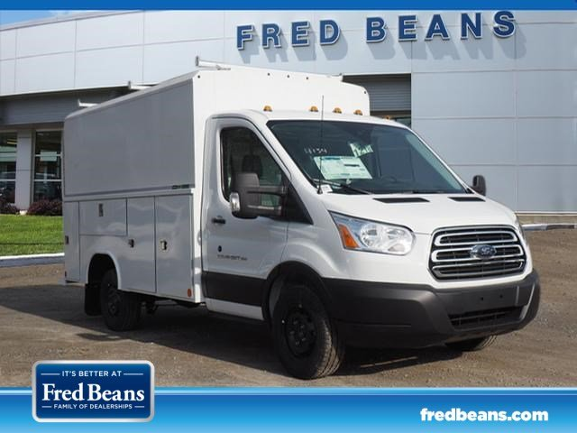 2019 Transit 350 4x2,  Reading Aluminum CSV Service Utility Van #W19296 - photo 3