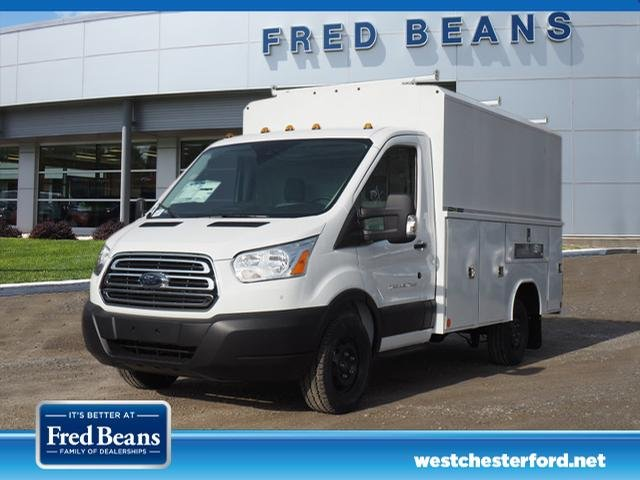 2019 Transit 350 4x2,  Reading Aluminum CSV Service Utility Van #W19296 - photo 1