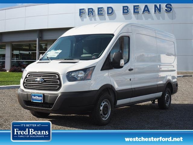 2019 Transit 350 Med Roof 4x2,  Empty Cargo Van #W19402 - photo 3