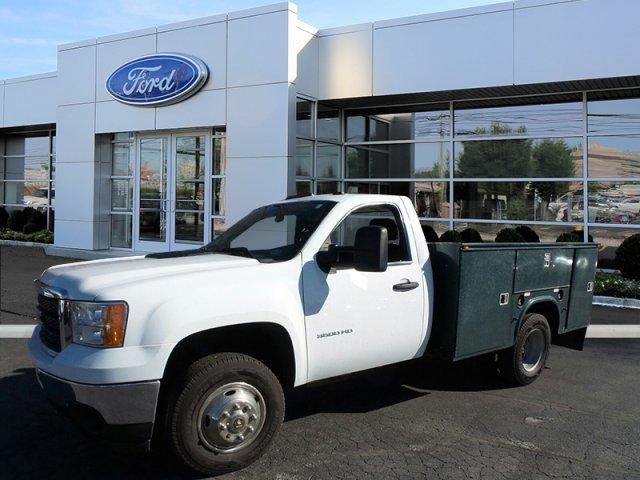2013 Sierra 3500 Regular Cab, Service Body #W20477S - photo 4