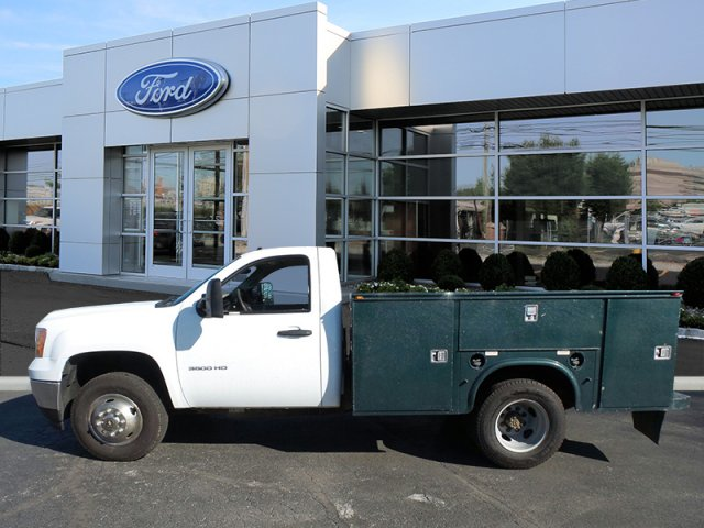 2013 Sierra 3500 Regular Cab, Service Body #W20477S - photo 5