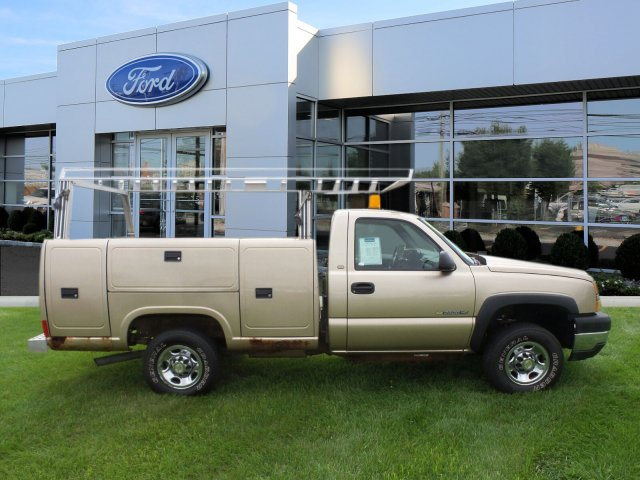 2005 Silverado 2500 Regular Cab 4x4,  Service Body #W20647S - photo 6