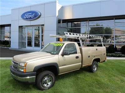 2005 Silverado 2500 Regular Cab 4x4,  Service Body #W20647S - photo 4