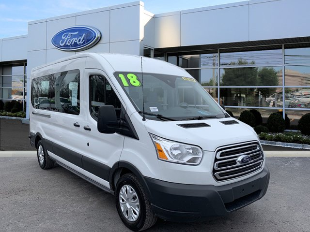 2018 Transit 350 Med Roof 4x2,  Passenger Wagon #W20869P - photo 1