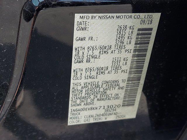 2019 Nissan Frontier Crew Cab 4x4, Pickup #W21525E - photo 25