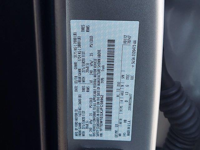 2018 F-150 SuperCrew Cab 4x4,  Pickup #W21682P - photo 33