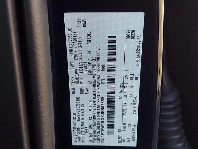 2018 F-150 SuperCrew Cab 4x4,  Pickup #W21699P - photo 35