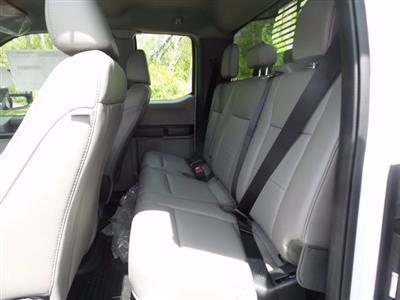 2020 Ford F-550 Super Cab DRW 4x4, Rugby Eliminator LP Steel Dump Body #WU001018 - photo 9