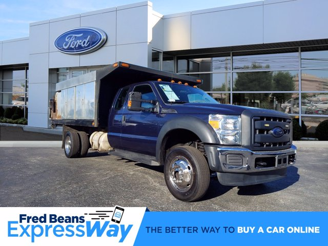 2013 Ford F-550 Super Cab DRW 4x4, Platform Body #WU0010182 - photo 1