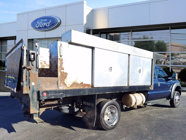 2013 Ford F-550 Super Cab DRW 4x4, Platform Body #WU0010182 - photo 2
