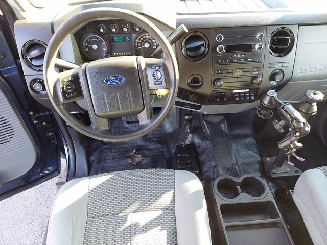 2013 Ford F-550 Super Cab DRW 4x4, Platform Body #WU0010182 - photo 11