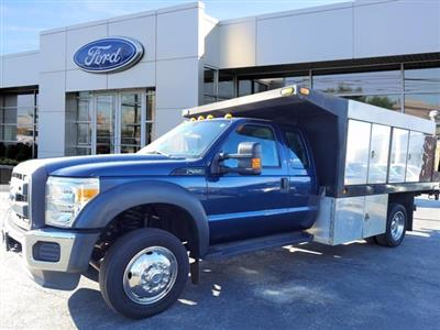 2013 Ford F-550 Super Cab DRW 4x4, Platform Body #WU0010182 - photo 4